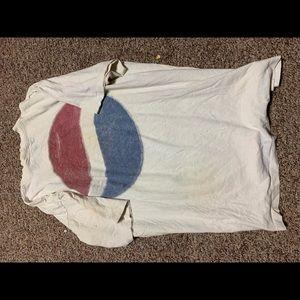 Vintage Pepsi promo single stitch t shirt